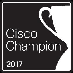 #CiscoChampion 2017